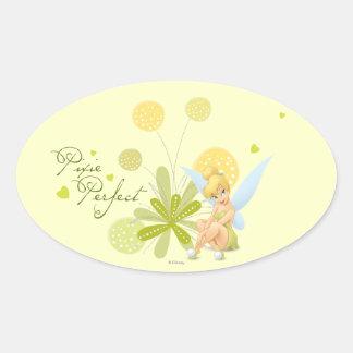 Tinker Bell  Pose 27 Oval Sticker