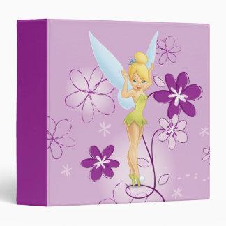Tinker Bell  Pose 7 3 Ring Binder