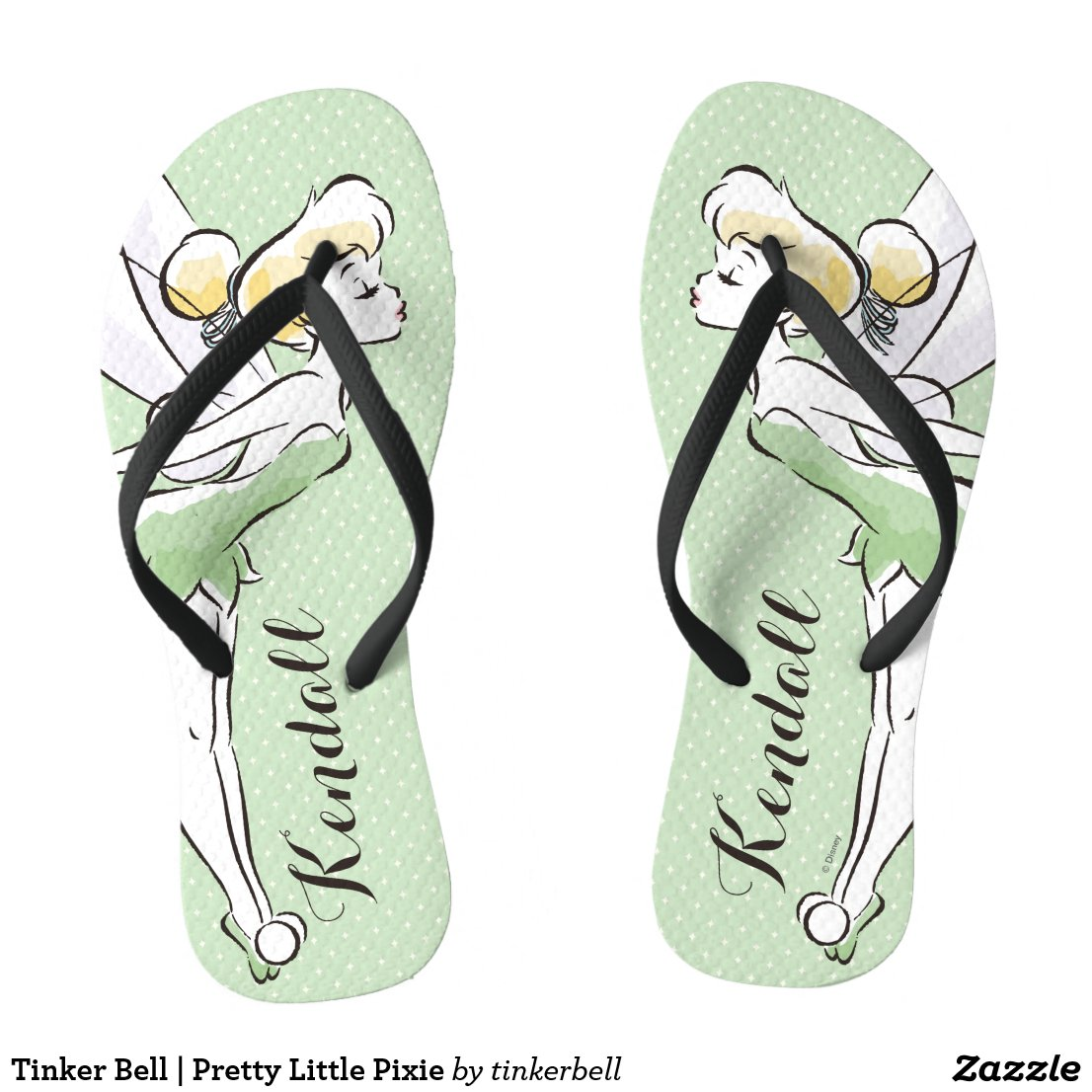 Tinker Bell | Pretty Little Pixie Flip Flops
