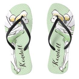 Tinker Bell   Pretty Little Pixie Flip Flops