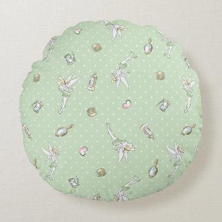 Tinker Bell   Pretty Little Pixie Round Pillow