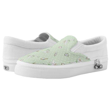 Tinker Bell | Pretty Little Pixie Slip-On Sneakers
