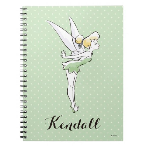 Tinker Bell | Pretty Little Pixie Spiral Notebook