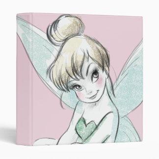 Tinker Bell | Sitting Pastel Binder