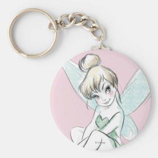 Tinker Bell | Sitting Pastel Keychain