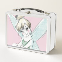 Tinker Bell | Sitting Pastel Metal Lunch Box
