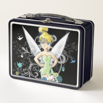 Tinker Bell Sketch Metal Lunch Box