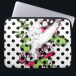 "Tinker Bell Sketch With Roses and Polka Dots Laptop Sleeve<br><div class=""desc"">Disney Fast Fashion 