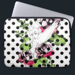 """Tinker Bell Sketch With Roses and Polka Dots Laptop Sleeve<br><div class=""""desc"""">Disney Fast Fashion 