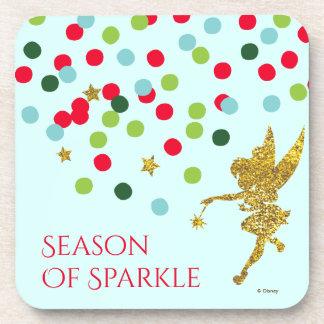 Tinker Bell | Tinker Bell Christmas Sparkle Beverage Coaster
