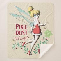 Tinker Bell | Vintage Pixie Dust Magic Sherpa Blanket