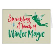 Tinker Bell | Winter Magic Card