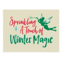 Tinker Bell | Winter Magic Postcard