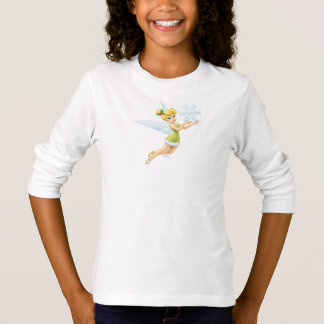 Tinker Bell With Snowflake T-Shirt