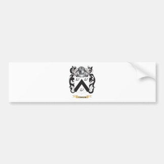 Tinker Family Crest (Coat of Arms) Bumper Stickers
