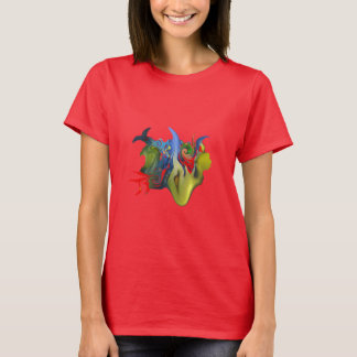 """""""Tinkerbell and the Candle"""" Women's Dark Tee"""
