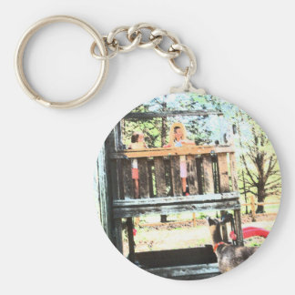TINKERBELL AT THE CLUBHOUSE  KEYCHAIN GIFT