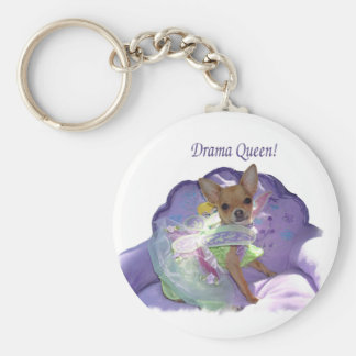 "Tinkerbell ""Drama Queen"" Keychain"
