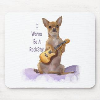 Tinkerbell RockStar Mouse Pad