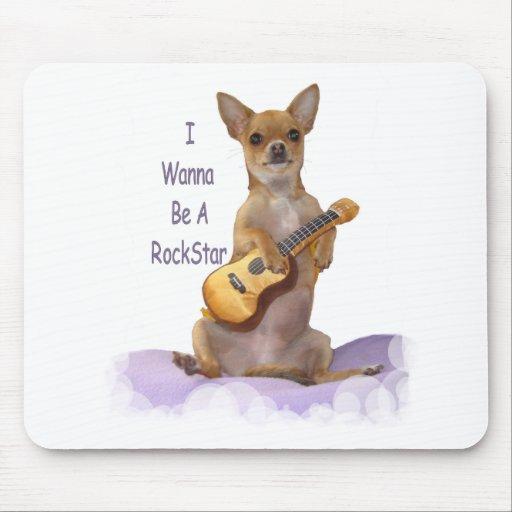 Tinkerbell RockStar Mouse Mat