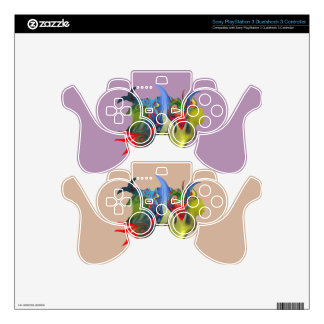 """""""Tinkerbell & the Candle"""" Sony PlayStation 3 Ctrlr PS3 Controller Skins"""