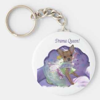 "Tinkerbell the ""Drama Queen!"" Keychain"