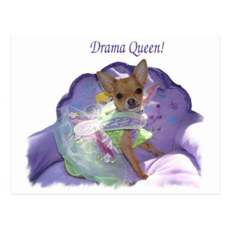 """Tinkerbell the """"Drama Queen!"""" Postcard"""