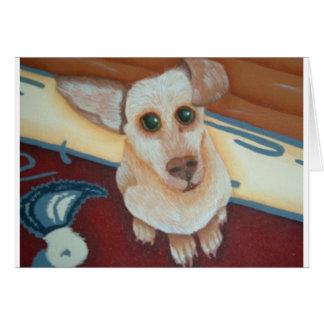 tinkerbelle an adorable chihaha card