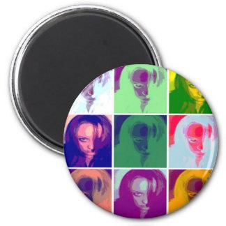 Tinkerchele (Warhal) 2 Inch Round Magnet