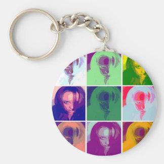 Tinkerchele (Warhal) Basic Round Button Keychain