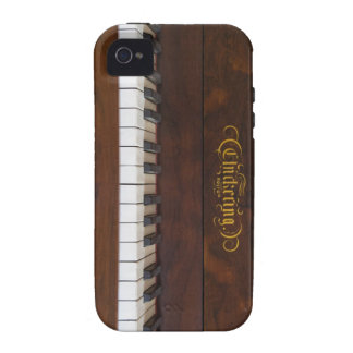 Tinkle the Ivories Vibe iPhone 4 Case
