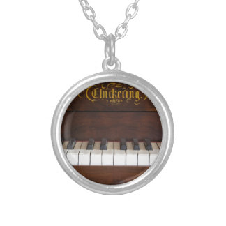 Tinkle the Ivories Round Pendant Necklace