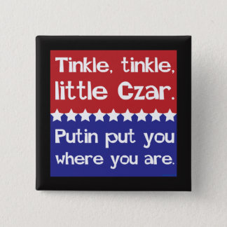 Tinkle Tinkle, Little Czar Red Blue Pinback Button