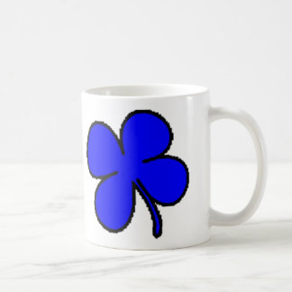 Tink's Blue Clover Collection Coffee Mug