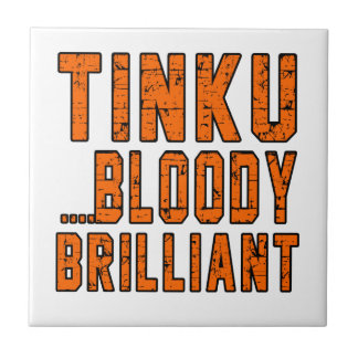 Tinku Bloody brilliant Small Square Tile