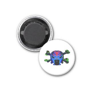 TINMAN BLUE Icon : Amusing Funny Cartoon Refrigerator Magnet
