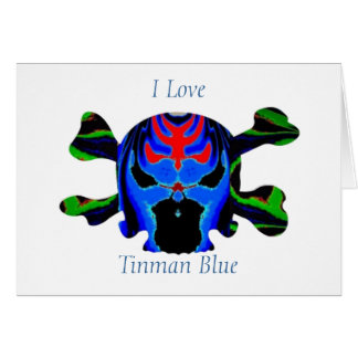 TINMAN BLUE Icon : HappyHolidays Happy Holidays Card