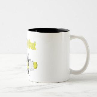 Tinnitus Two-Tone Coffee Mug