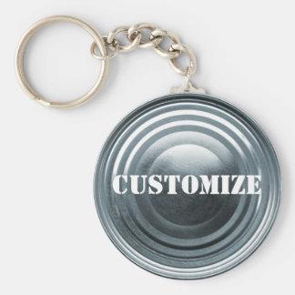 Tinplate Template Keychain