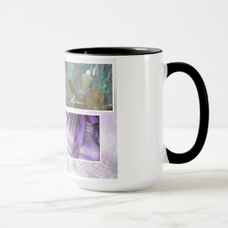 Tinsel and Flannel w Black Ring Coffee Mug
