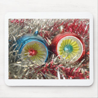 Tinsel Baubles For Christmas Tree Decoration Mouse Mats