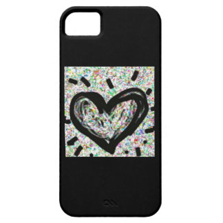 Tinsel Heart for iPhone 5 iPhone SE/5/5s Case
