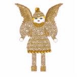 Tinsel Martzkin Ornament Cut Out