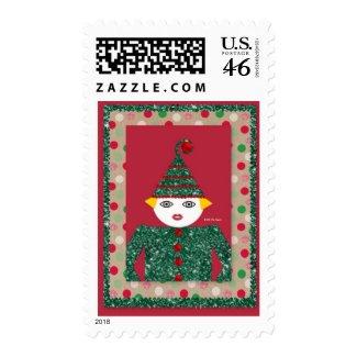 Tinsel Martzkin Postage Stamps