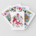 Tinsley Family Crest Bicycle Poker Cards