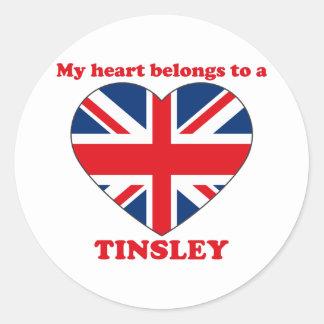 Tinsley Sticker