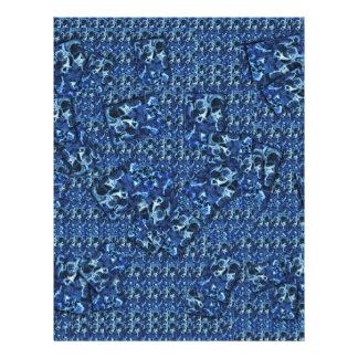 """Tinta azul folleto 8.5"""" x 11"""""""