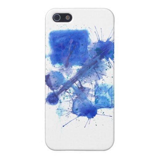 Tinta azul iPhone 5 cobertura