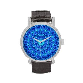tinta azul relojes de mano