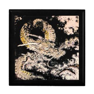 Tinta china antigua legendaria oriental fresca del caja de regalo